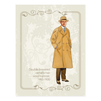 Wool Topcoat Postcard