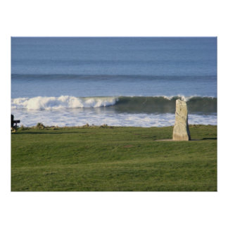 woolacombe bay poster