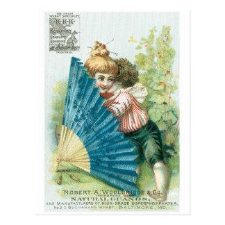 Wooldridge and Co Pianos Postcard