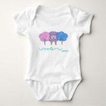 Woolen Candy One-piece Baby Bodysuit