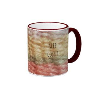 Woolen keep cosy mug