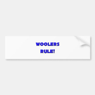 Woolers Rule Bumper Stickers