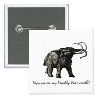 Wooley Mammoth Pin