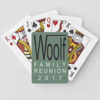 Woolf Family Reunion 2017 Playing Cards