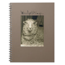 """Woolgatherings"" notebook from Notforgotten Farm"