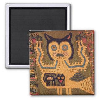 Woollen figure of a jaguar Paracas Culture Magnets