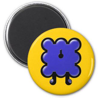 woollie's backside magnet