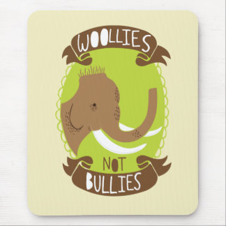 Woollies Not Bullies Mouse Pad
