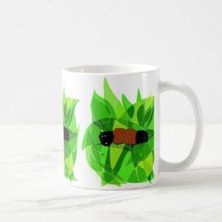 Woolly Bear Nature Art on Coffee Mug