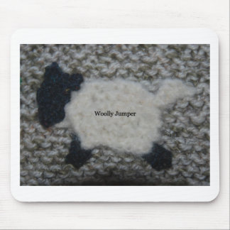 woolly jumper mouse pad