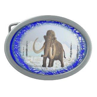 Woolly Mammoth Belt Buckle