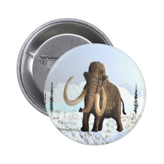 Woolly Mammoth Buttons