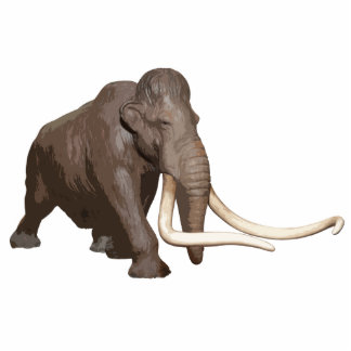 Woolly Mammoth Cutout
