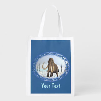 Woolly Mammoth Grocery Bag