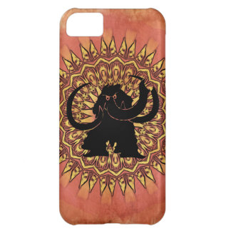 Woolly Mammoth Grungy iPhone Case
