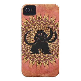 Woolly Mammoth Grungy iPhone Case iPhone 4 Covers