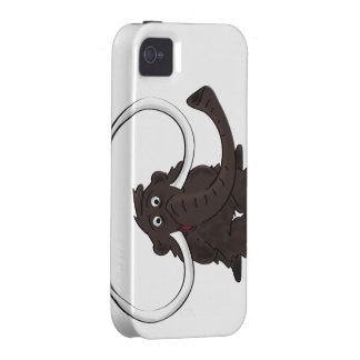 Woolly Mammoth iPhone Case iPhone 4/4S Cases