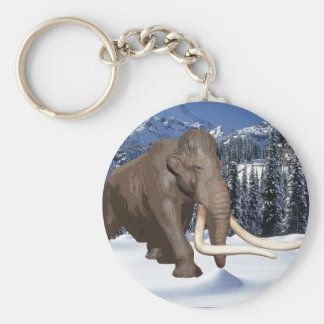 Woolly Mammoth Keychain