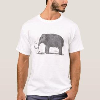 Woolly Mammoth Mastodon Extinct animals T-Shirt