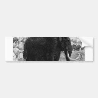 Woolly Mammoth Mod Destiny Bumper Sticker