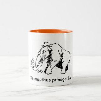 Woolly Mammoth Mug (Scientific Name)