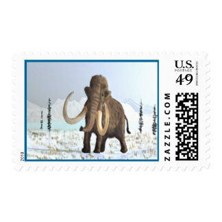 Woolly Mammoth Stamps