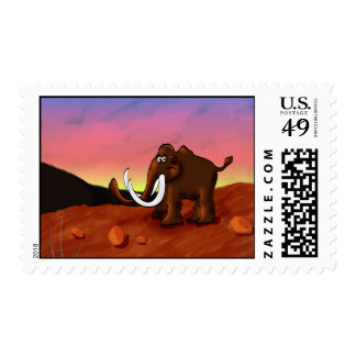 Woolly Mammoth Postage