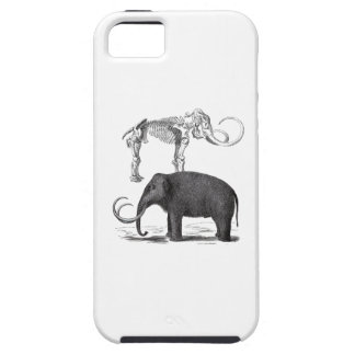 Woolly Mammoth Pre-Historic Elephant and Skeleton iPhone SE/5/5s Case
