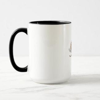 Woolly Mammoth Side Drawing Mug
