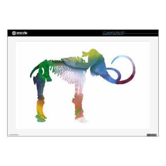 Woolly Mammoth Skeleton Art Skins For Laptops