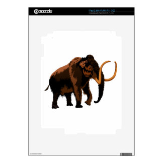 Woolly Mammoth Decals For iPad 2