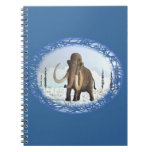 Woolly Mammoth Spiral Note Book