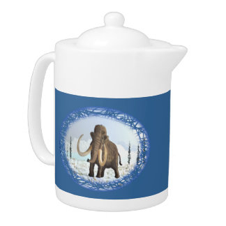 Woolly Mammoth Teapot