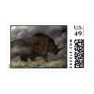 Woolly Rhinoceros Postage Stamps