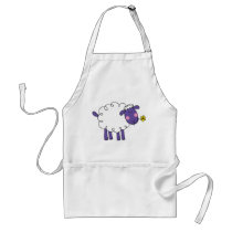Woolly sheep adult apron