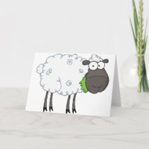Woolly Sheep Greeting Cards