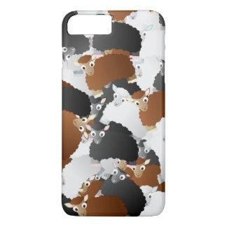 Woolly Sheep Invasion iPhone 8 Plus/7 Plus Case