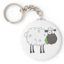 Woolly Sheep Keychain