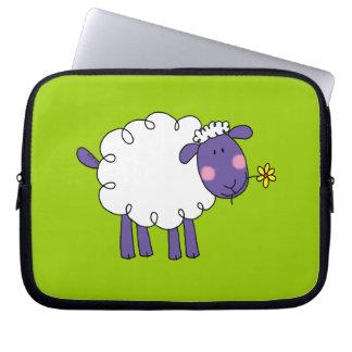 Woolly sheep laptop computer sleeves