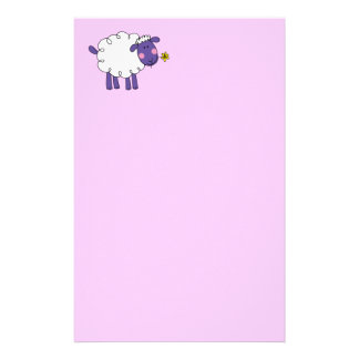 Woolly sheep stationery