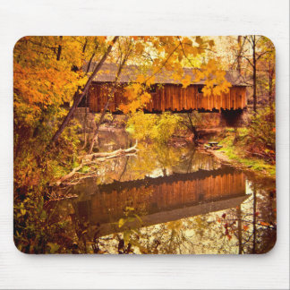 Woolslayer Covered Bridge Mouse Pad