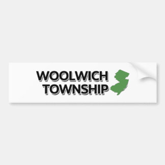 Woolwich Township, New Jersey Bumper Sticker
