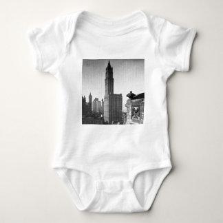 Woolworth Building Lower Manhattan New York City Baby Bodysuit
