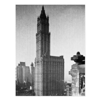 Woolworth Building Lower Manhattan New York City Postcards