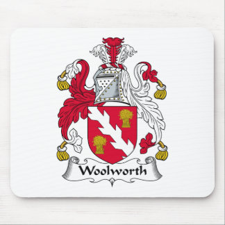 Woolworth Family Crest Mouse Mat