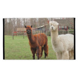 Wooly Alpacas ~ iPad Caseable folio case iPad Folio Cover