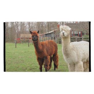 Wooly Alpacas ~ iPad Caseable folio case iPad Folio Cover