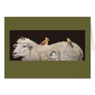 Wooly estates card