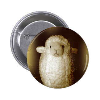 Wooly Fuzzy Sepia Lamb Pins