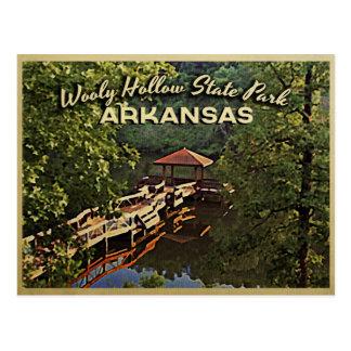 Wooly Hollow Arkansas Ozarks Post Card